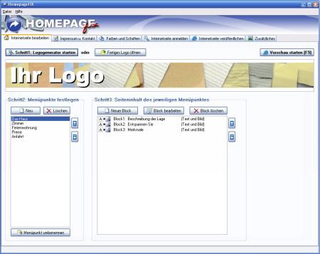 websitemaker kostenlos websitemaker kostenlos homepage software und internetseite erstellen. Black Bedroom Furniture Sets. Home Design Ideas